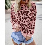 Leopard Sweatshirts mujer...