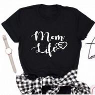 Mamá vida corazón Camiseta...