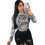 Camiseta estampada  3D...